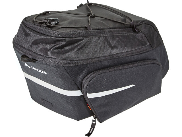VAUDE Silkroad Plus Rack Bag Snap-It, black